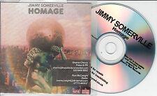 JIMMY SOMERVILLE Homage 2015 UK 12-trk promo test CD Bronski Beat
