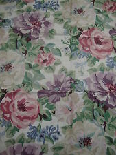 95cm Sanderson Mittsommer Rose Vintage Shabby Chic Vorhang/Polsterstoff