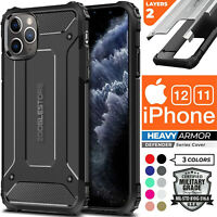 For iPhone 12 Pro / 12 Mini / 12 Pro Max Armor Rugged Shockproof Heavy Duty Case