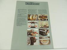 Vintage 1979 ? BMW Motorcycle Accessories Dealer Brochure L2816