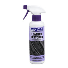 Nikwax leather Restorer Motorcycle Leathers Boots Roadbike Cleaner