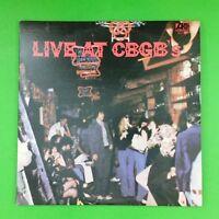 LIVE AT CBGB'S SD2508 Dbl LP Vinyl VG++ Cover VG++ GF