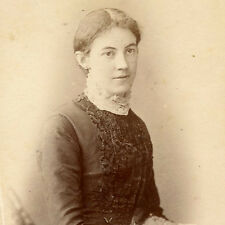 1884 ID'd LIZZIE GODSALL CDV PHOTO CARTE DE VISITE PORTRAIT VICTORIAN MALVERN