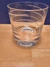MIKASA CHEERS Double Old Fashioned Glass Low Ball Tumbler Rocks Whiskey (1)