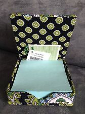 Vera Bradley Cambridge Sticky Notes Box - Limited Edition - Brand New With Tags