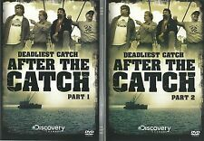 DEADLIEST CATCH AFTER THE CATCH PARTS 1 (ONE) & 2 (TWO) - 2 DVD SET