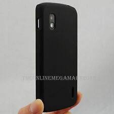 Premium Black Hybrid Rubberised Hard Back Case,Cover, for Google Nexus 4 E960