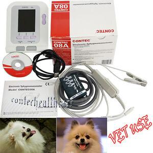 Vet Digital Blood Pressure Monitor Spo2, PR,Pulse Rate,heart beat for animal Use