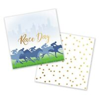MELBOURNE CUP RACE DAY BEVERAGE NAPKINS PACK OF 50 BIRTHDAY PARTY SUPPLIES