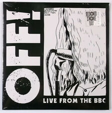 """OFF! - Live from the BBC 10"""" Record Vinyl - BRAND NEW - Limited 5000"""