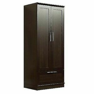 Sauder 411312 HomePlus Dakota Oak Wardrobe Storage Cabinet