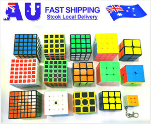 Hot Positive professional 2-7 layer Fast Speed Magic Rubiks Cube Smooth Puzzle