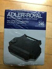 New Listing6 Pack Adler Royal Black Correctable Typewriter Ribbon 246 Electronic 310410