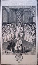 Eau-forte, Chevalier de l'ordre de St Michel, Ecole française, XVIIe siècle