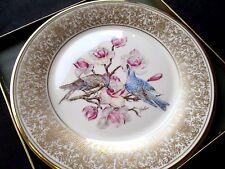 Lenox Ltd Annual Edition Collector Plate Boehm Birds #3 Mountain Bluebird 1972