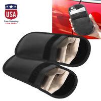 2pcs Fob Guard RFID Signal Blocking Bag Shielding Pouch Case for Phone CarKey