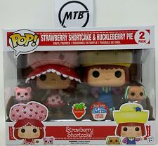 FUNKO POP STRAWBERRY SHORTCAKE & HUCKLEBERRY PIE CUSTARD PUPCAKE 2 PACK NYCC