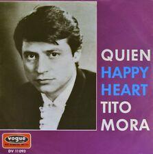 """7"""" TITO MORA ex LOS BRUJOS Quien / Happy Heart JAMES LAST Latin-Pop VOGUE 1970"""