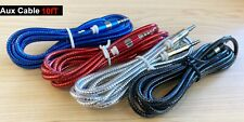 Aux Cable 3.5mm Male to Male Auxiliary Audio Cable Cord for Car PC Phone iPod