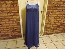 Purple Patch Gorgeous Smokey Blue Formal Full Length Dress sz 18