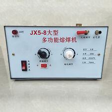 JX5-8 Multifunction Jewelry Fusing Welder Melting Welding Equipment 220V