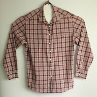 Rodd & Gunn Men's Italian Fabric Long Sleeve Check Shirt Size XXL