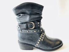 City Walk Damenschuhe Stiefeletten Stiefel Boots, Grau, EU36