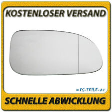Spiegelglas für CHEVROLET NUBIRA 2005-2009 rechts Beifahrerseite asphärisch