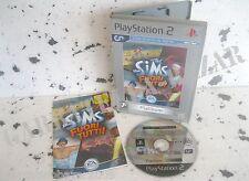 THE SIMS FUORI TUTTI (2003) PS2 PLATINUM PAL ITA ORIGINALE + LIBRETTO USATO