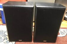 Vintage Cambridge Soundworks Model Six by Henry Kloss - Pair L&R Speakers
