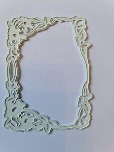 Lovely Flower Frame Die Cutter  Lightly Used