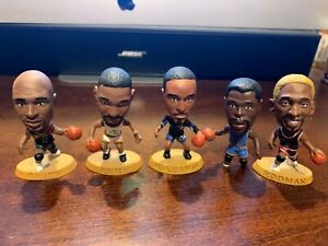 Vintage 1997 Headliners NBA Players Figure Corinthian - Lot of Five
