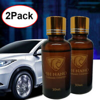 2x Liquid Glass 9H Nano Hydrophobic Ceramic Coating Car Polish Anti-scratch Auto