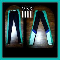 Victoria's Secret VSX Sport Knockout Collant Tight Leggings Full Length Size XS