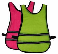 J2X Fitness Basic High Visibility Reflective Running Hi Viz Mesh Vest Bib