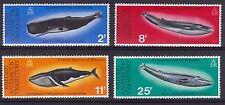 British Antarctic Territory BAT 1977 Mint MLH Full Set Whales Humpback Blue Fin