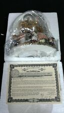 Boyds Bearly Built Villages-Boyds Town-Baily'S Cottage-Water Globe With Music!