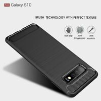 Case Cover For Samsung Galaxy S10 - Slim Tough Bumper Rugged Armor Matte Black