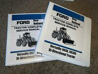 Ford New Holland  Versatile 9030, 9030E Bi-Directional Service Repair Binder