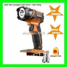 AEG 18V Compact LED Torch FL18-0  - Skin Only