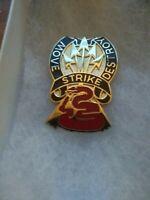116th Cavalry Brigade Combat Team DI DUI Crest Clutchback