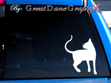 Oriental Shorthair Cat #1 -Vinyl Decal Sticker -Color -High Quality