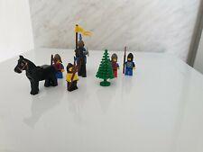 Lego Moyen-âge vintage personnages année 80 pièces