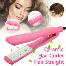 Professional Hair Curler Crimper Iron Curling Anion Curl Wave Machine Salon
