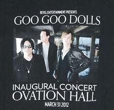 Goo Goo Dolls Concert T Shirt Mens L Revel Casino Inaugural 2012 Atlantic City