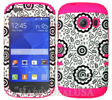 nnFor Samsung Galaxy Ace Style S765c - KoolKase Hybrid Cover Case - Flower 56