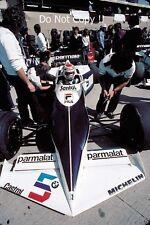 Nelson Piquet Brabham BT52 USA West Grand Prix 1983 Photograph