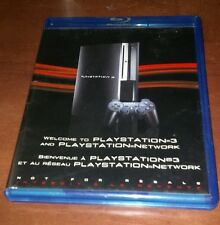 Welcome Playstation 3 PS3 Network BluRay Disc Sony BCUS98156