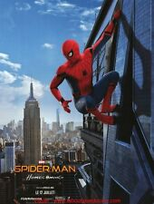 SPIDER MAN Homecoming Affiche Cinéma 160x120 Movie Poster Tom Holland