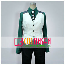 Cosonsen Tiger And Bunny Kotetsu T. Kaburagi Cosplay Costume With Hat All Sizes